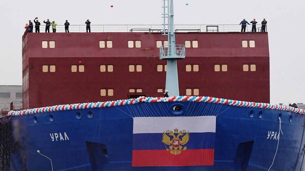 روسيا تطور كاسحة جليد نووية جديدة