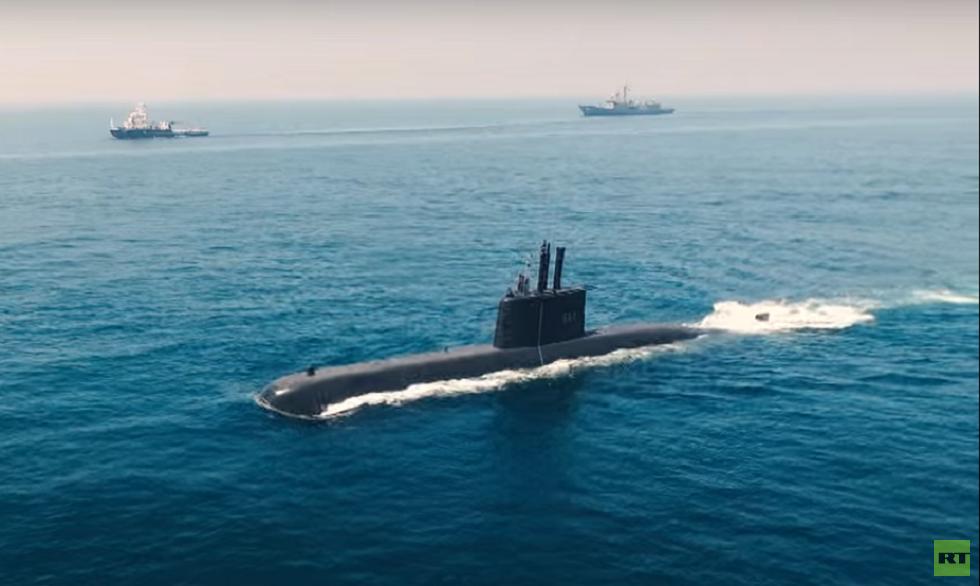 الأسطول المصري يتسلم ثالث غواصة ألمانية من طراز