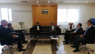 Photo of السفير الايراني يلتقي وزير الاشغال العامة والنقل اللبناني