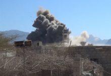صورة 21 غارة يشنها طيران العدوان على اربع محافظات يمنية خلال 24 ساعة