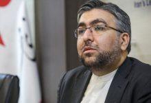 صورة لجنة الأمن القومي ببرلمان ايران تطالب الخارجية بالرد على تصريحات ماكرون